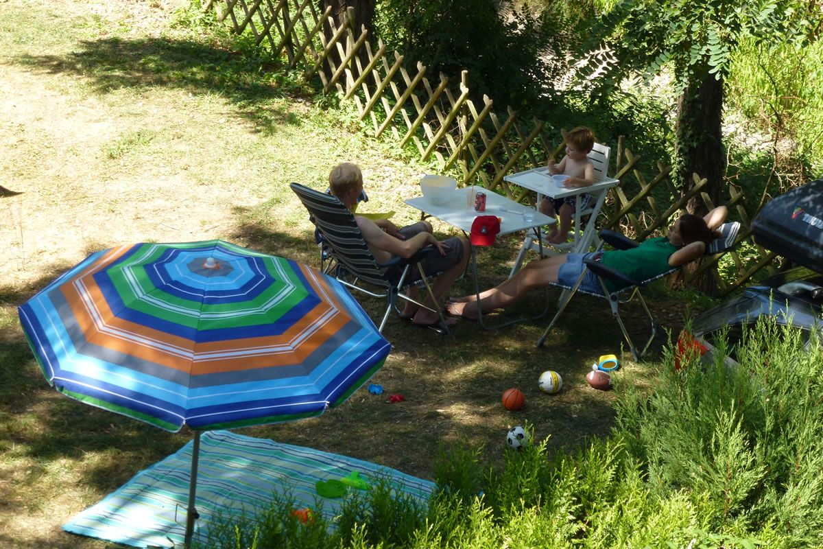 Camping Iserand - Emplacement
