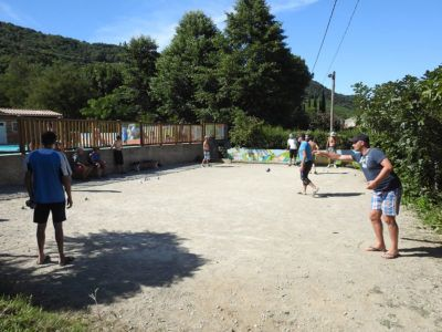 Pétanque (French bowls)